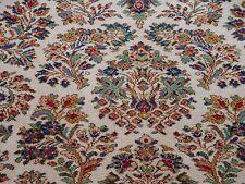 "8'8"" X 10'6""  Fine Karastan 760 Ivory Sarouk USA Wool Area Rug"