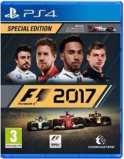 PS4 PLAYSTATION 4 GIOCO F1 2017 FORMULA 1 SPECIAL EDITION - PAL ITALIANO