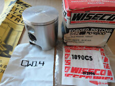 WISECO SUZUKI 1986-87 RM80 PISTON KIT 2ND OVERSIZE BORE 48.00mm 542P2 542M04800