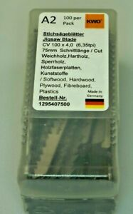 German High Quality Jigsaw Blades Compatible with Bosch T101D Pack of 100