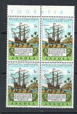 Angola 1972 - 400 Years Lusíadas Edition Block Four MNH