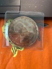 Silver Coin George W Bush 2001 And Al Gore