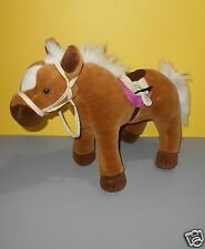 "2010 Commonwealth What A Doll 16"" Plush Standing Horse Pony Kahn Lucas Lancaster"