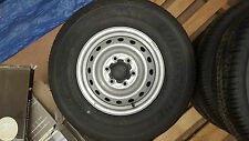 PX Ranger Silver Steel Wheels & Tyres