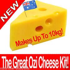 1 x The Great Ozi Home Cheese Making  Kit  DIY Cheddar Feta Mozzarella Haloumi