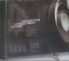 MAX RICHTER - Songs From Before CD