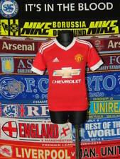 4.5/5 Manchester United boys 7/8 years 128cm football shirt jersey trikot
