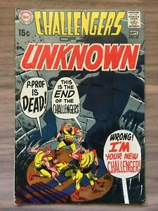 Challengers Of The Unknown #69 - DC Comics - Silver Age - 1969