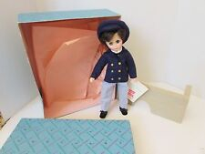 """MADAME ALEXANDER DOLL LAURIE LITTLE MEN #1326 11"""" TALL IN ORIG BOX W/TISSUE"""