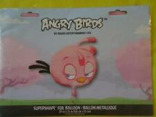 ANGRY BIRDS SUPERSHAPE FOIL HELIUM BALLOON - 27 INCH - PINK - BIRTHDAY PARTY