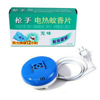 60Pcs Electric Mosquito Repeller Mats Refill Smokeless+ Insect Skeeter Killer