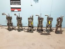 """Lot Of 6 """" Graco"""" Heavy Duty Commercial High Flow Stainless Steel Hydrolic Pumps"""