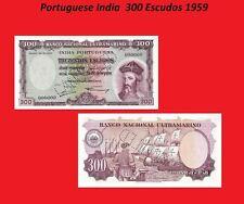 Portuguese India 300 Escudos 1959. UNC - Reproductions