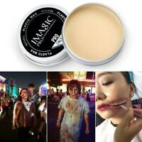 Halloween Modeling Fake Wound Scar Eyebrow Blocker Wax Special Effect Cover 20g
