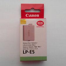 LP-E5 Battery Fr Canon EOS-Kis F T1i XS X2 X3 EOS-Rebel XSi 450D 500D 1000D