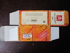 BOITE VIDE NOREV  CITROEN XSARA PICASSO 1999 EMPTY BOX CAJA VACCIA