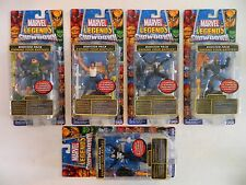 MARVEL LEGENDS SHOWDOWN BOOSTER PACK WAVE 1 SET/DOC OCK/WOLVERINE/BLK SPIDER-MAN
