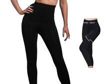 Women High Waist Slimming Leggings Seamless Shapewear Bum Lift Size Medium 12 14