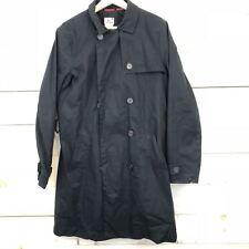 Lacoste Women's Double Face Trench Coat Black Size 44 12