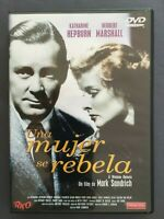 DVD UNA MUJER SE REBELA Katharine Hepburn Herbert Marshall MARK SANDRICH