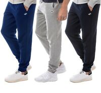Mens Le Shark Fleece Joggers Branded Slim Fit Gym Jogging Bottom Pants Trousers