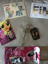 MY LITTLE PONY DOG TAG WITH STICKER AND TATTOO-#29