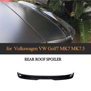 Dachspoiler Heckspoiler Abrisskante Flügel Lippe für VW GOLF 7/7.5 VII Schwarz