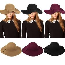 Wool Blend Wide Brim Unbranded Hats for Women
