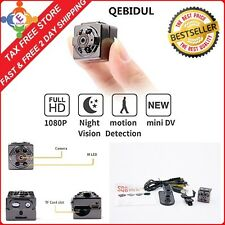1080P Camara Mini Espia Hidden Camera with Infrared Night Vision Spy Camcorder