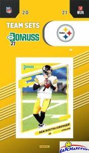 Pittsburgh Steelers 2021 Donruss NFL Team Set-Ben Roethlisberger, Terry Bradshaw
