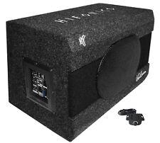 HIFONICS VX690A aktive Basskiste Single-Bassreflex Bassbox Subwoofer +Verstärker