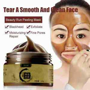 120ml Herbal Beauty Peel-off Mask Remove Blackheads Mask Tearing Shrinks Pores