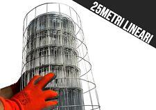 RETE ELETTROSALDATA 50x75 ZINCATA PER RECINZIONE METALLICA 25MT