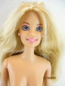 Lot of 2  Barbie Dolls no clothes with box
