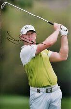 jamie donaldson signed 12x8 golf open pro golfer