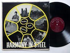 INVADERS STEEL ORCHESTRA Harmony in Steel LP TRINIDAD calypso   #125