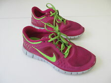 Women's NIKE 'Free Run+ 3' Sz 8.5 US Runners Pink Green VGCon | 3+ Extra 10% Off