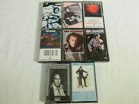 Lot of 8 Neil Diamond Cassette Tapes Greatest Hits Classics Beautiful Noise MORE