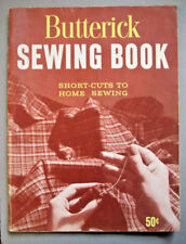 1950's Butterick Sewing Book short cuts to home sewing