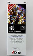 Red Sea Coral Colors D 500ml Mhd 5/20 Micronutrients For Saltwater 20,98 €/ L