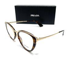 Prada VPR 53U 2AU-1O1 Havana Women's Authentic Eyeglasses Frame 50-19