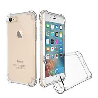 Ultra Thin Clear TPU Silicone Soft Rubber Case Cover For iPhone 8 6S 7 Plus X 5s