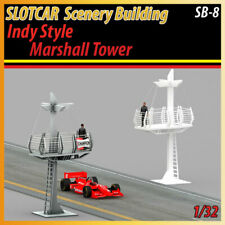 Slotcar Scenery Building Indy Style Marsahall Tower for scalextric, carrera