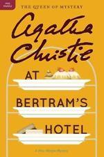 Agatha Christie At Bertram's Hotel Miss Marple Mystery Trade Paperback