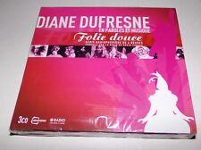 Diane Dufresne En Paroles Et Musique Folie Douce 3 CD Set - Brand New RARE