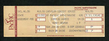 1985 Emmylou Harris Randy Newman Unused Full Concert Ticket Costa Mesa CA