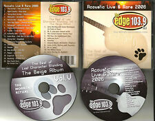 LIVE & ACOUSTIC 2 CD FLYLEAF Blue October PLACEBO The Format  JACK'S MANNEQUIN