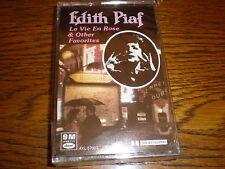 Edith Piaf CASSETTE NEW La Vie En Rose & Other Favorites