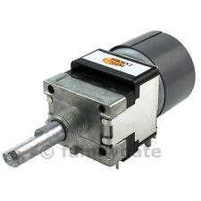 ALPS dual motorized rotary Potentiometer RK16812MG 10K o 100K log o linear pot