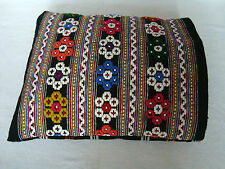 Vintage Ottoman style Woolen Hand-woven Hand – embroidered decorative pillowcase